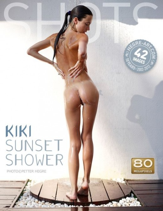 Kiki - `Sunset Shower` - by Petter Hegre for HEGRE-ART