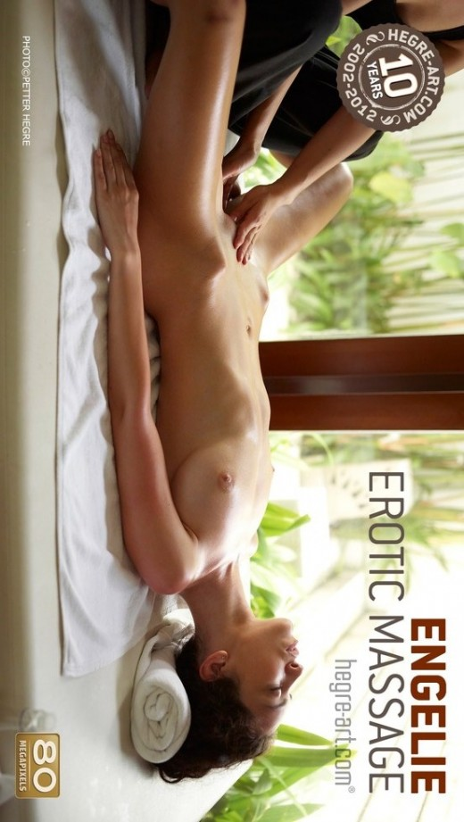 Engelie - `Erotic Massage` - by Petter Hegre for HEGRE-ART
