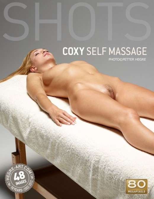 Coxy - `Self Massage` - by Petter Hegre for HEGRE-ART