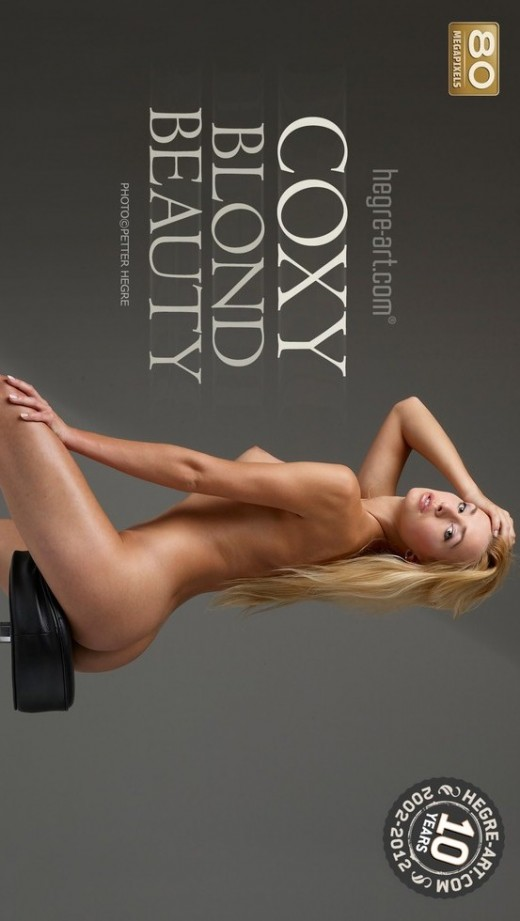 Coxy - `Blond Beauty` - by Petter Hegre for HEGRE-ART