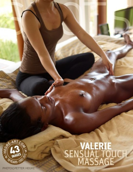 Valerie - `Sensual Touch Massage` - by Petter Hegre for HEGRE-ART