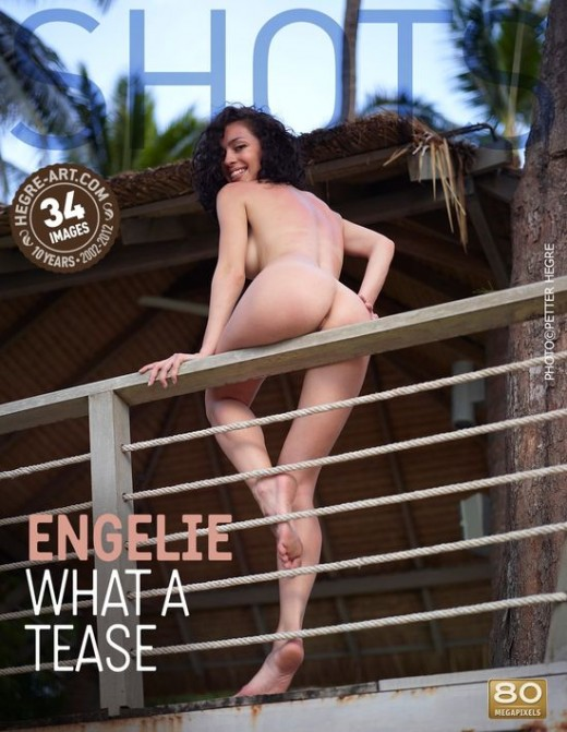 Engelie - `What a Tease` - by Petter Hegre for HEGRE-ART
