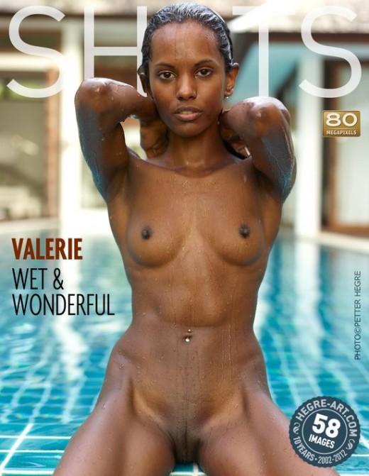 Valerie - `Wet & Wonderful` - by Petter Hegre for HEGRE-ART