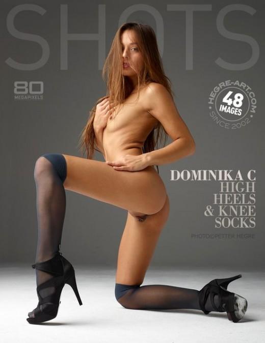 Dominika C - `High Heels & Knee Socks` - by Petter Hegre for HEGRE-ART