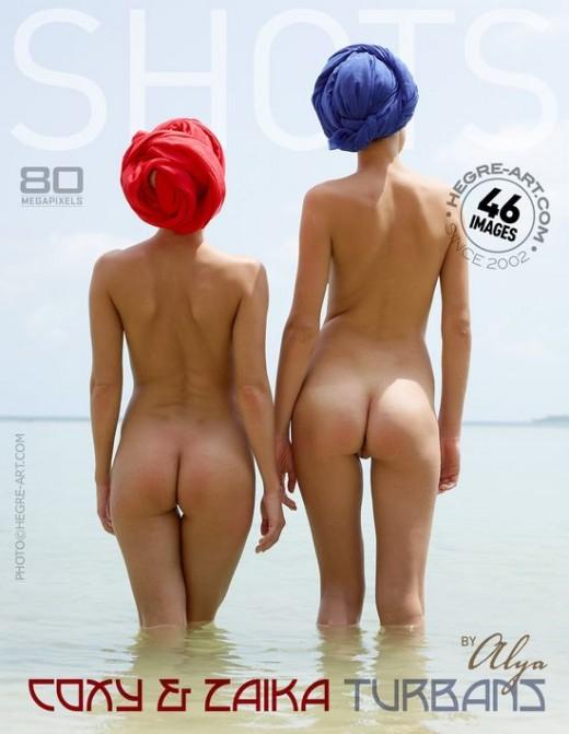 Coxy & Zaika - `Turbans` - by Alya for HEGRE-ART