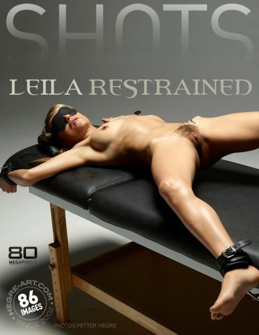 Leila - `Restrained` - by Petter Hegre for HEGRE-ART