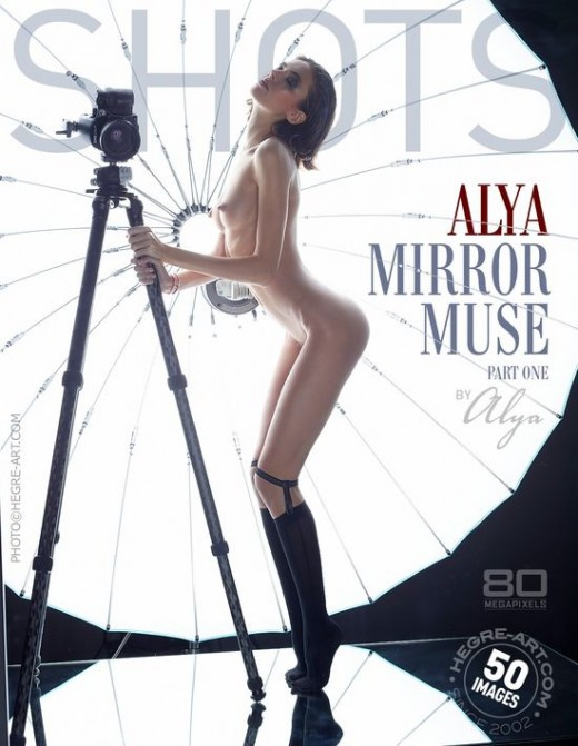 Alya - `Mirror Muse - Part One` - by Petter Hegre for HEGRE-ART