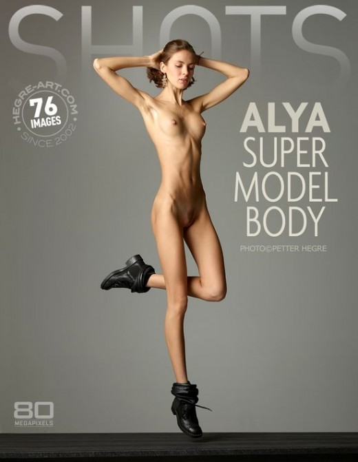 Alya - `Super Model Body` - by Petter Hegre for HEGRE-ART