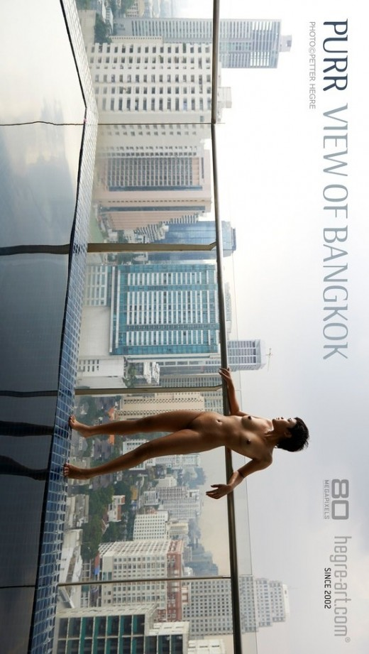Purr - `View Of Bangkok` - by Petter Hegre for HEGRE-ART
