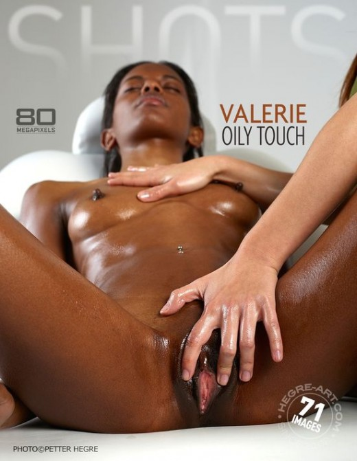 Valerie - `Oily Touch` - by Petter Hegre for HEGRE-ART