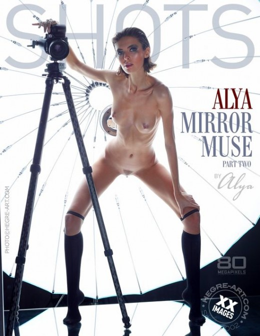 Alya - `Mirror Muse - Part Two` - by Petter Hegre for HEGRE-ART