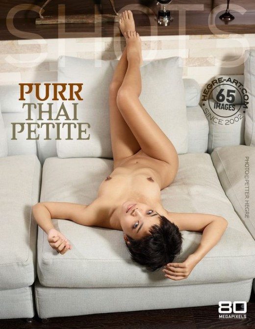 Purr - `Thai Petite` - by Petter Hegre for HEGRE-ART