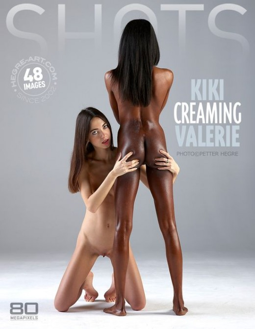 Kiki & Valerie - `Kiki Creaming Valerie` - by Petter Hegre for HEGRE-ART
