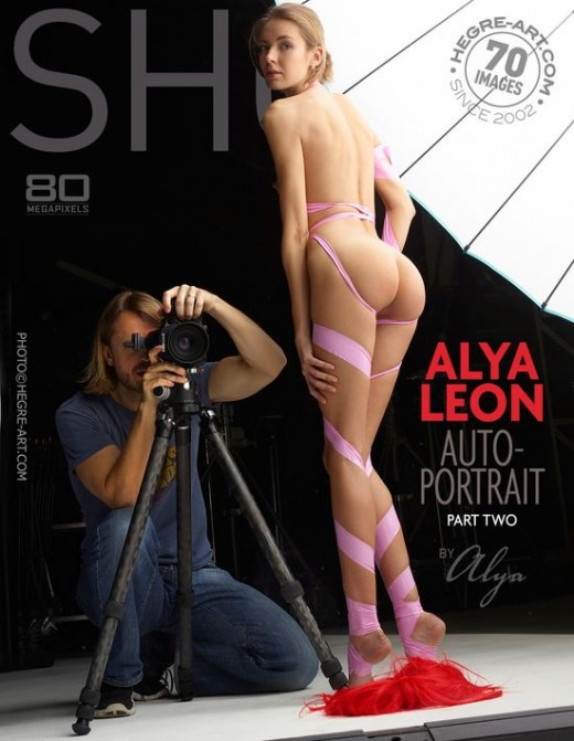 Alya Leon - `Autoportrait - Part Two` - by Petter Hegre for HEGRE-ART