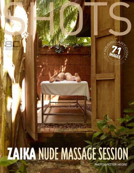 Zaika - `Nude Massage Session` - by Petter Hegre for HEGRE-ART