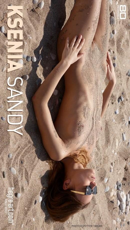 Ksenia - `Sandy` - by Petter Hegre for HEGRE-ART