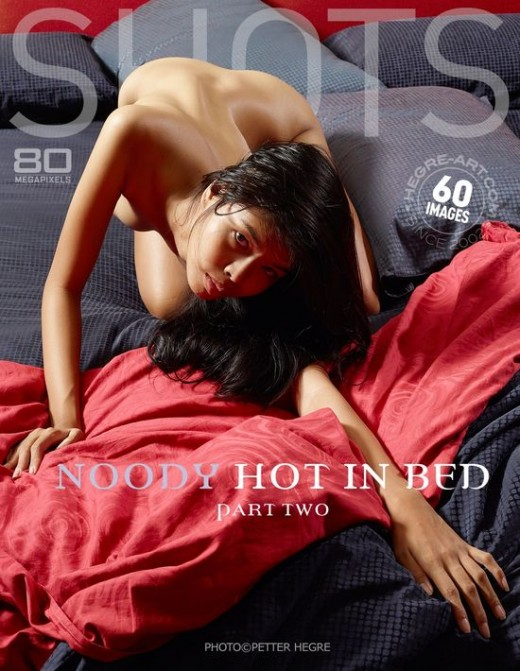 Noody - `Hot In Bed - Part Two` - by Petter Hegre for HEGRE-ART