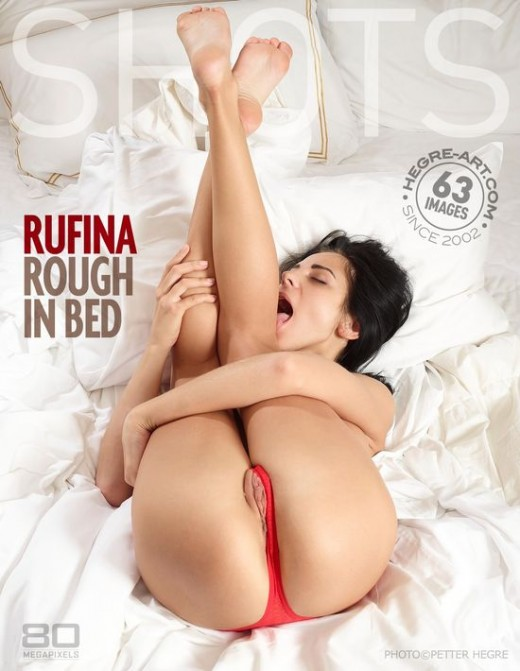 Rufina - `Rough In Bed` - by Petter Hegre for HEGRE-ART