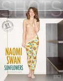 Naomi Swan in Sun Flowers gallery from HEGRE-ART by Petter Hegre