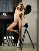 Alya - Black Feathers Self Portraits