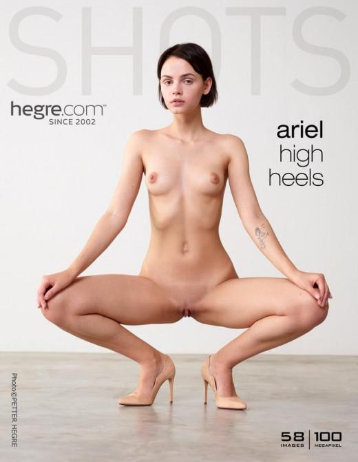 Ariel - `High Heels` - by Petter Hegre for HEGRE-ART