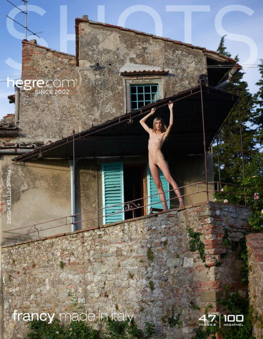 Francy in Made In Italy gallery from HEGRE-ART by Petter Hegre