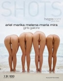 Marika & Ariel & Mira & Melena Maria in Girls Galore gallery from HEGRE-ART by Petter Hegre