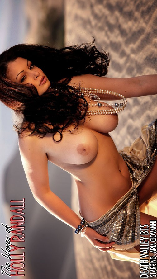 Aria Giovanni - `Death Vally bts` - by Holly Randall for HOLLYRANDALL ARCHIVES