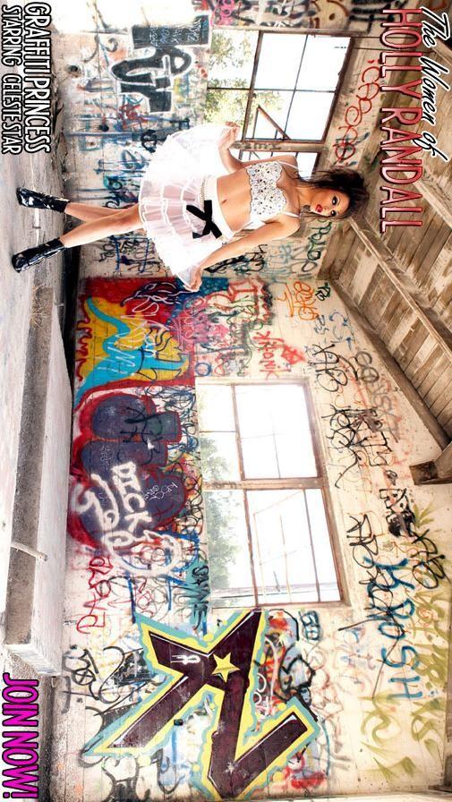 Celeste Star - `Graffiti Princess` - by Holly Randall for HOLLYRANDALL ARCHIVES