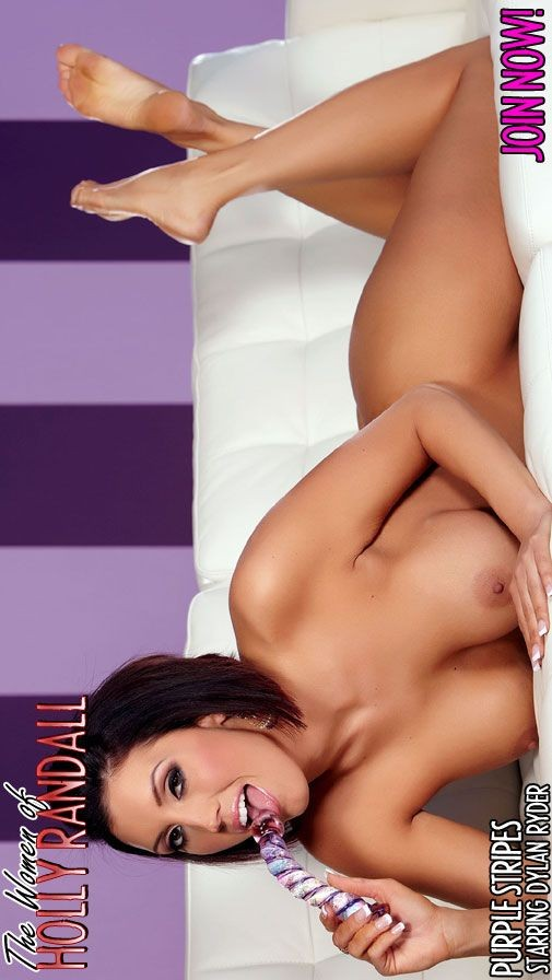Dylan Ryder - `Purple Stripes` - by Holly Randall for HOLLYRANDALL ARCHIVES