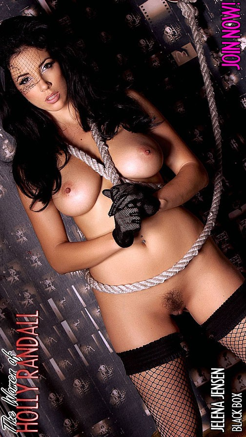 Jelena Jensen - `Black Box` - by Holly Randall for HOLLYRANDALL ARCHIVES