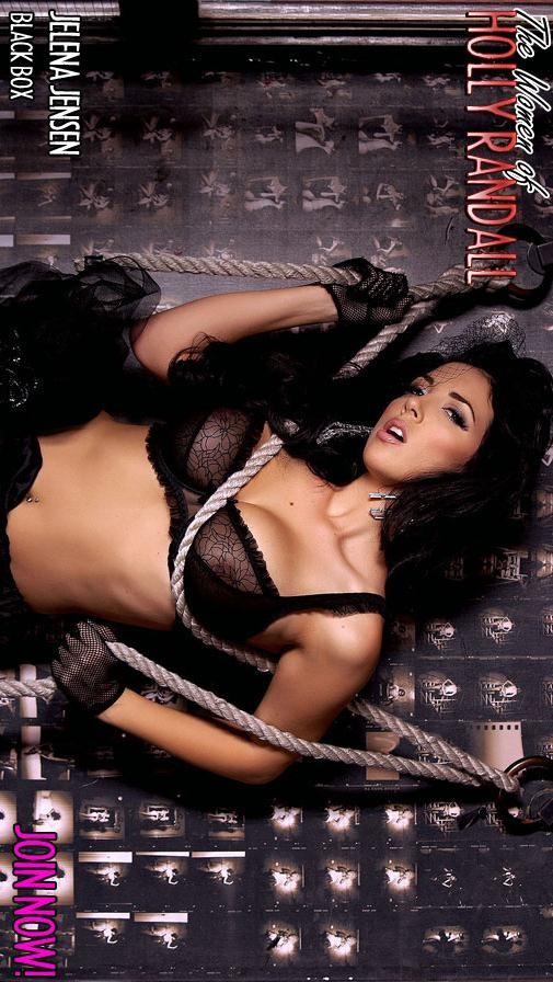 Jelena Jensen - `Black Box` - by Holly Randall for HOLLYRANDALL ARCHIVES