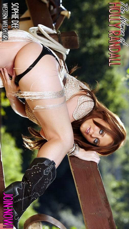 Sophie Dee - `Western Welsh Girl` - by Holly Randall for HOLLYRANDALL ARCHIVES