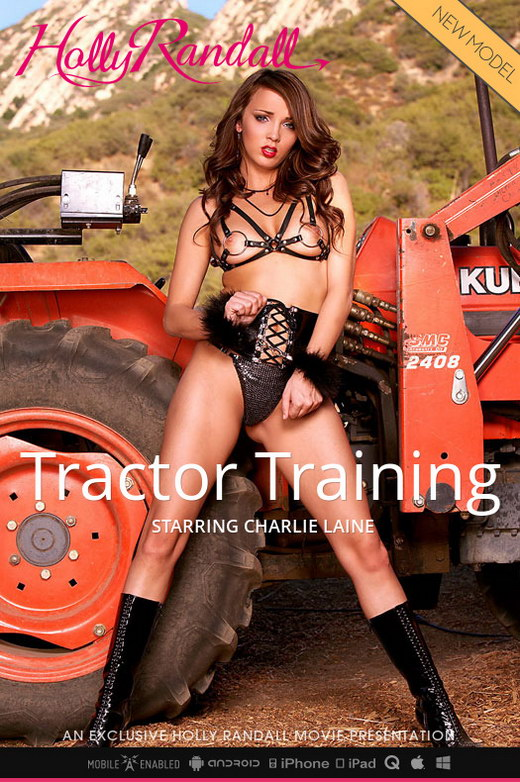 Charlie Laine - `Tractor Training` - by Holly Randall for HOLLYRANDALL