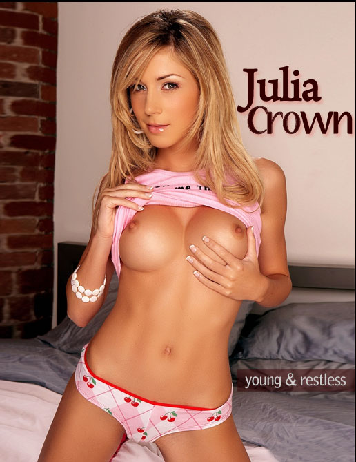 Julia Crown - `Young & Restless` - by Holly Randall for HOLLYRANDALL