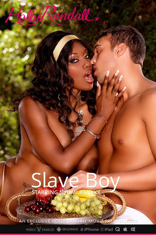 Nyomi Banxxx - `Slave Boy` - by Holly Randall for HOLLYRANDALL