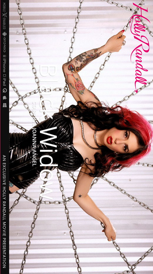 Joanna Angel - `Black Widow` - by Holly Randall for HOLLYRANDALL