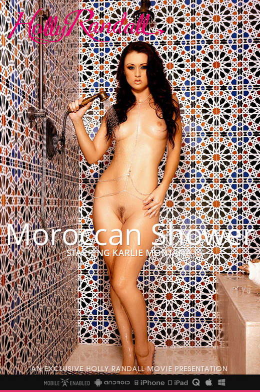 Karlie Montana - `Moroccan Shower` - by Holly Randall for HOLLYRANDALL