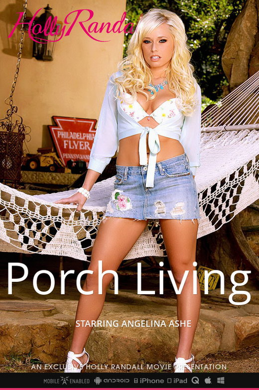 Angelina Ashe - `Porch Living` - by Holly Randall for HOLLYRANDALL