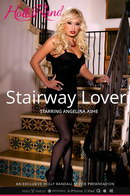 Angelina Ashe in Stairway Lover video from HOLLYRANDALL by Holly Randall
