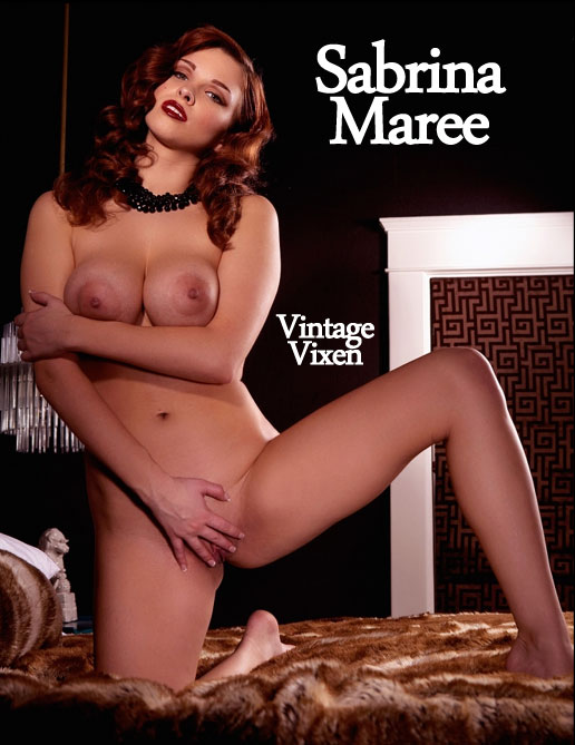 Sabrina Maree - `Vintage Vixen` - by Holly Randall for HOLLYRANDALL