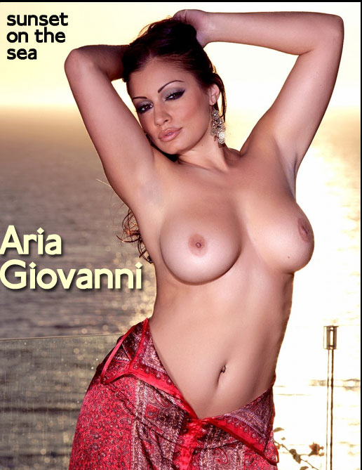 Aria Giovanni - `Sunset on the Sea` - by Holly Randall for HOLLYRANDALL