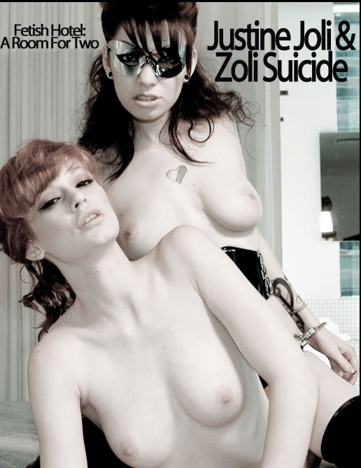Justine Joli & Zoli Suicide - `Fetish Hotel: A Room for Two` - by Holly Randall for HOLLYRANDALL