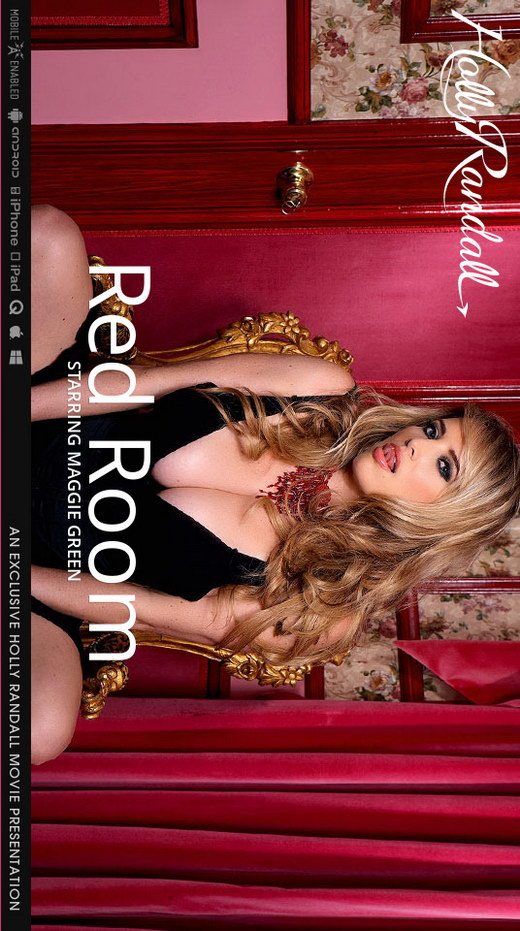 Maggie Green - `Red Room` - by Holly Randall for HOLLYRANDALL