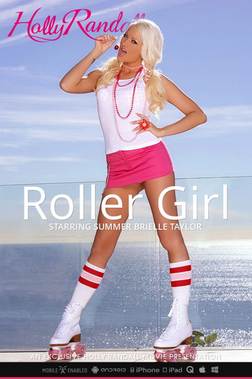 Summer Brielle Taylor - `Roller Girl` - by Holly Randall for HOLLYRANDALL