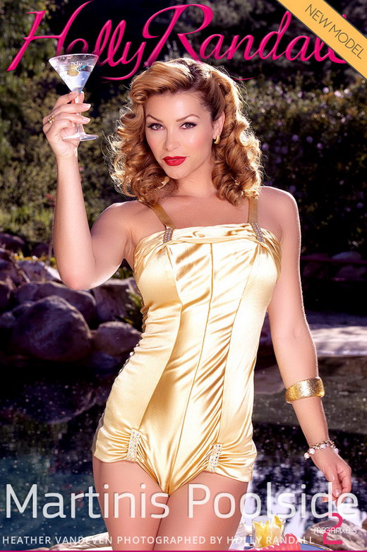 Heather Vandeven - `Martinis Poolside` - by Holly Randall for HOLLYRANDALL