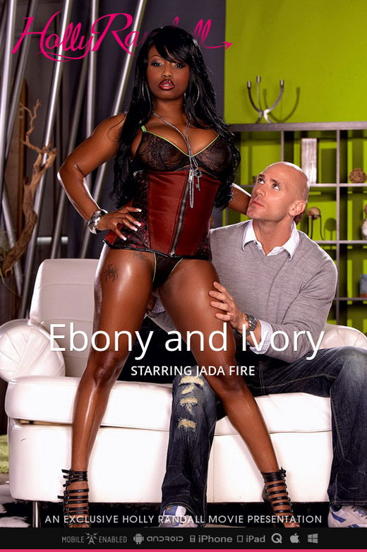 Jada Fire - `Ebony and Ivory` - by Holly Randall for HOLLYRANDALL
