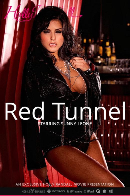Sunny Leone - `Red Tunnel` - by Holly Randall for HOLLYRANDALL