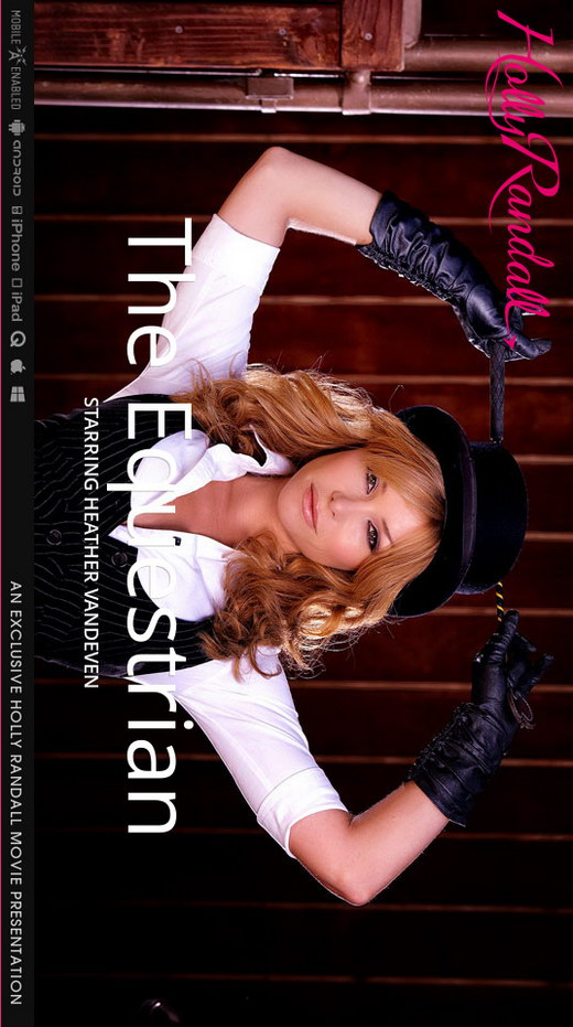 Heather Vandeven - `The Equestrian` - by Holly Randall for HOLLYRANDALL