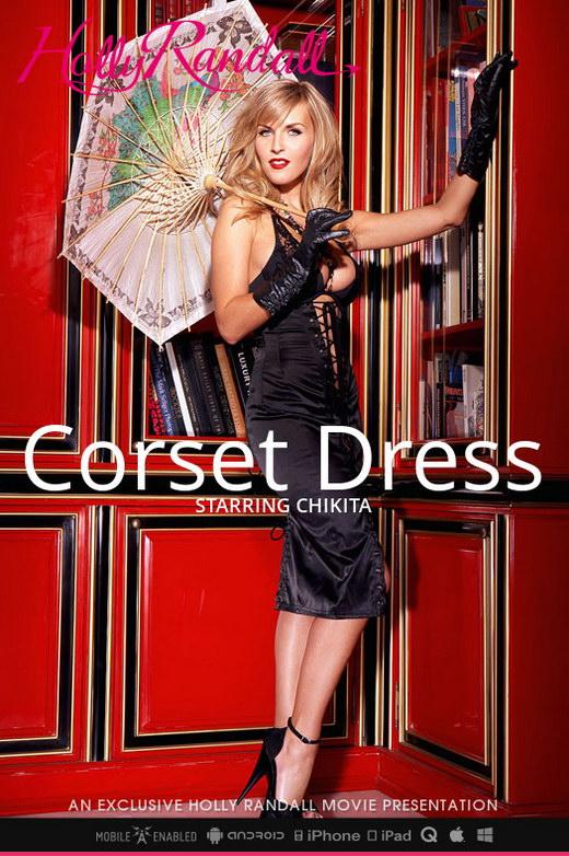 Chikita - `Corset Dress` - by Holly Randall for HOLLYRANDALL
